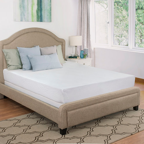 "Maxrest 8"" Echo Friendly Gel Memory Foam Mattress"