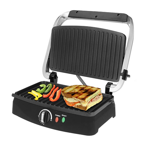 Stainless Steel 2-Slice  Panini Grill