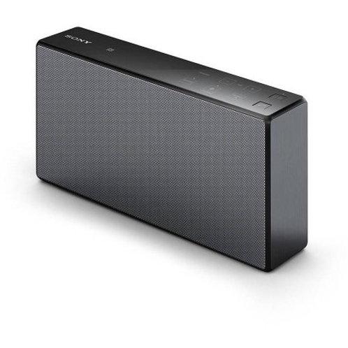 Sony - Portable Bluetooth Speaker System - Black