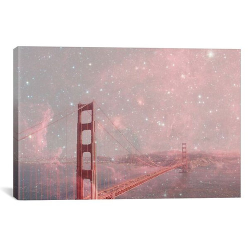Stardust Covering San Francisco by Bianca Green