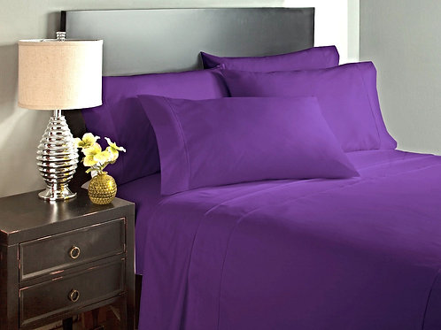 Purple Bed Sheet Set
