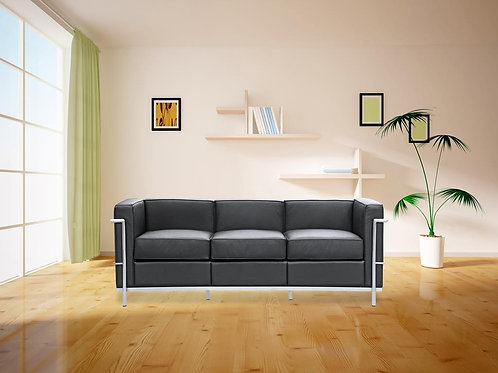 Grey Box Sofa
