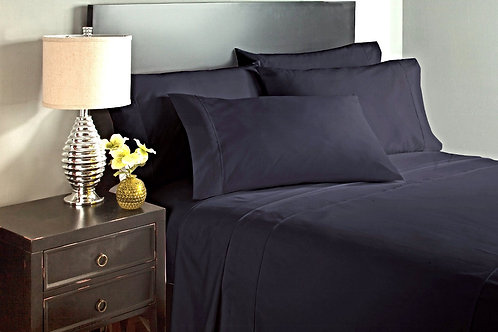 Black Bed Sheet Set
