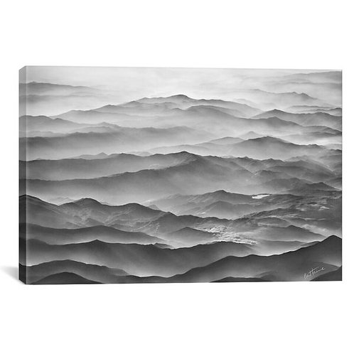 Ocean Mountains by Ben Heine Canvas Print