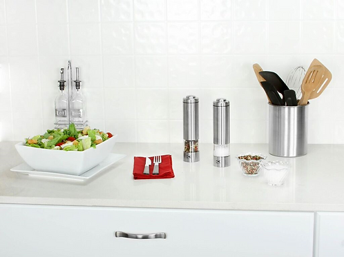 Electric Salt & Pepper Grinder Set