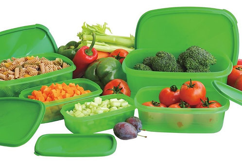 (10) PCS Always Fresh Plastic Food Containers