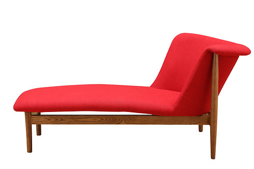 Red Chaise Sofa