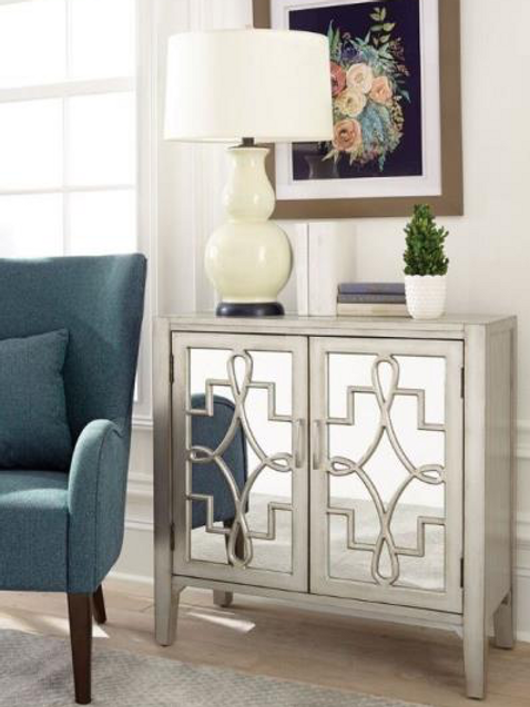 Fancy Accent Cabinet