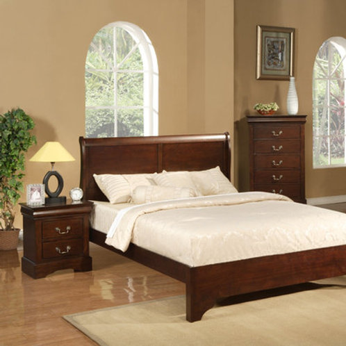 Hopkinsville Wood Panel Bed