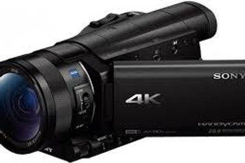 Sony Handycam 4K Video Camera with 3.5-Inch LCD