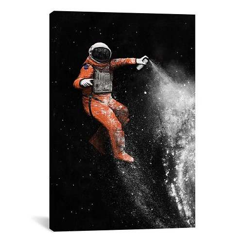 Astronaut by Florent Bodart Canvas Print
