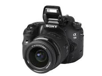 "Sony SLT-A58K DSLR 18-55mm Zoom 20.1MP 3"" LCD"