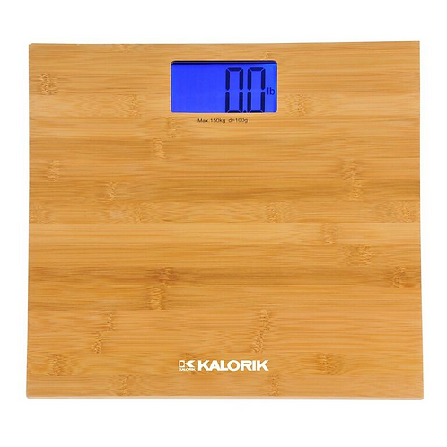 Digital Bamboo Bathroom Scale