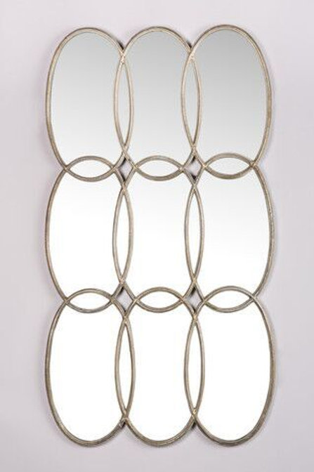 OVERSIZED CIRCLES MIRROR