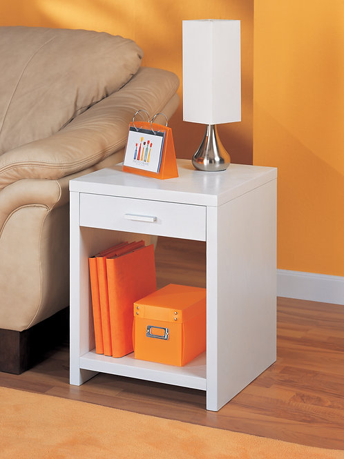 White Classic Side Table