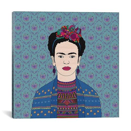 Frida Kahlo by Bianca Green Canvas Print