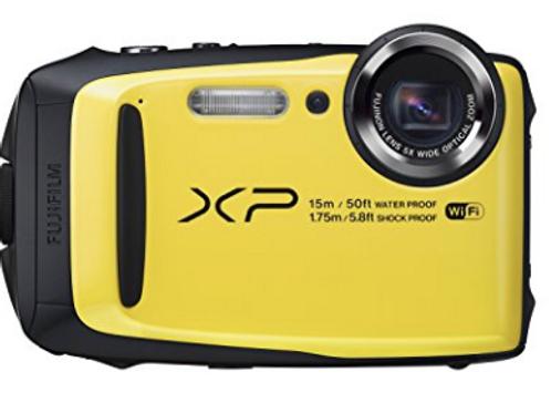 Fujifilm FinePix XP90 Yellow Digital Camera (Refurbished)
