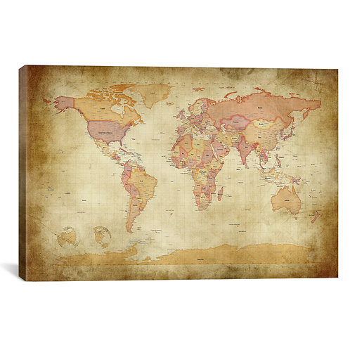 Map of The World II