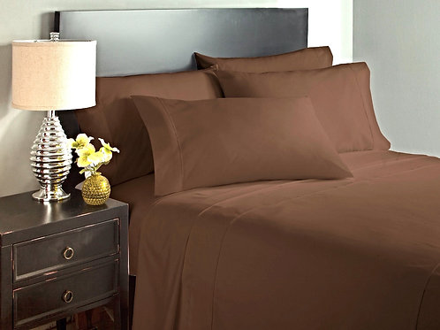 Brown Bed Sheet Set
