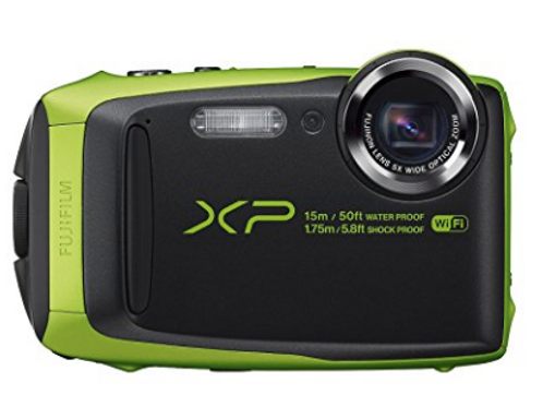 Fujifilm FinePix XP90 Lime Green Digital Camera (Refrubished)