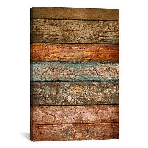 Mapas by Diego Tirigall Canvas Print