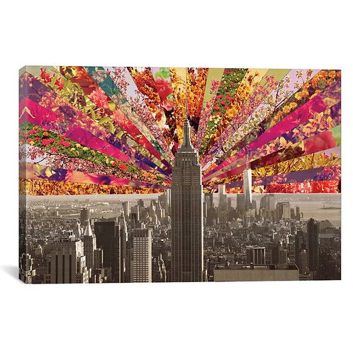 Blooming New York by Bianca Green Canvas Print