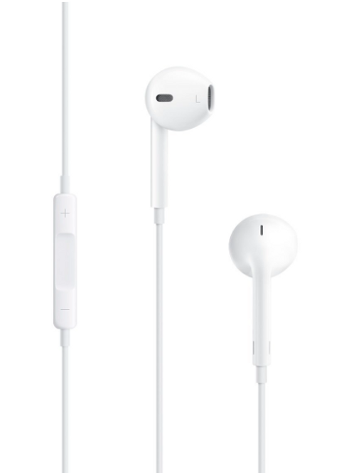 Apple EarPods with Remote and Mic. (White)