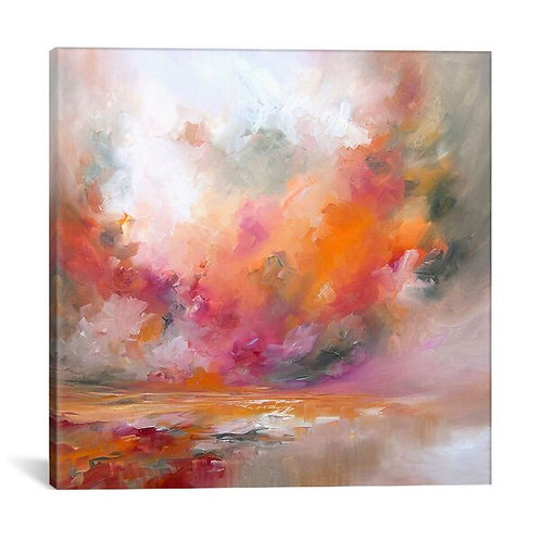 Colour Burst by J.A Art Canvas Print