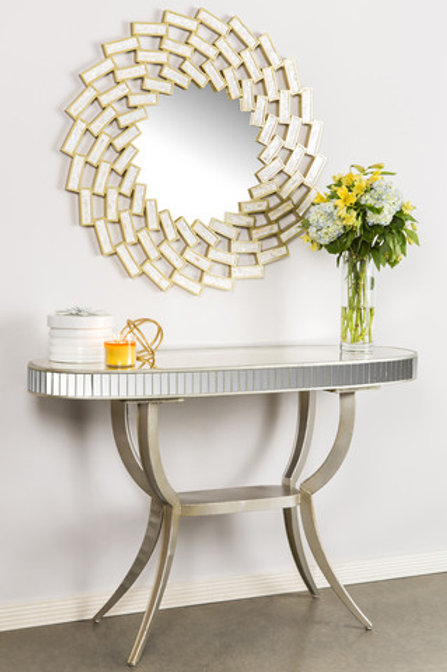 ROI OVAL CONSOLE TABLE