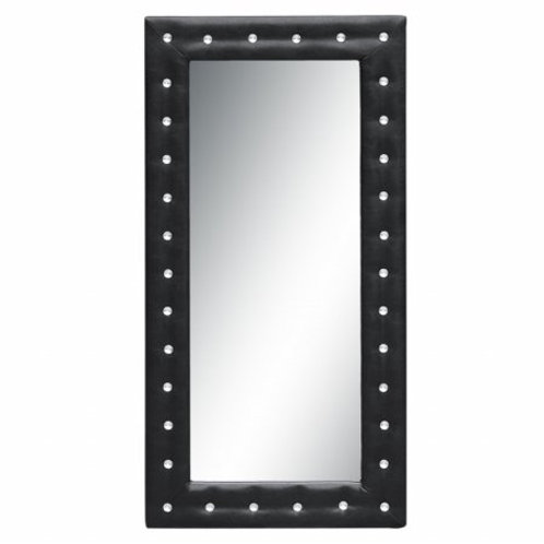 "MaxMod Tufted Mirror 36"", Black"