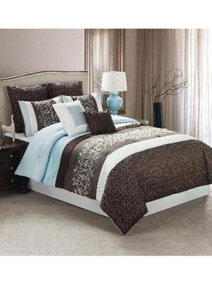 RIVOLI-8 Piece Comforter Set - ELIAS