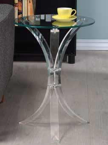 Transparent Accent Table