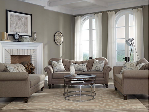 Brown LUX Living Room