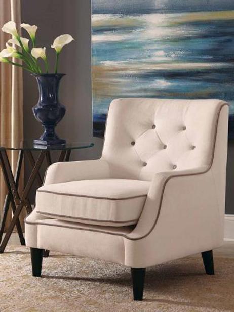 Wavy Accent Chair