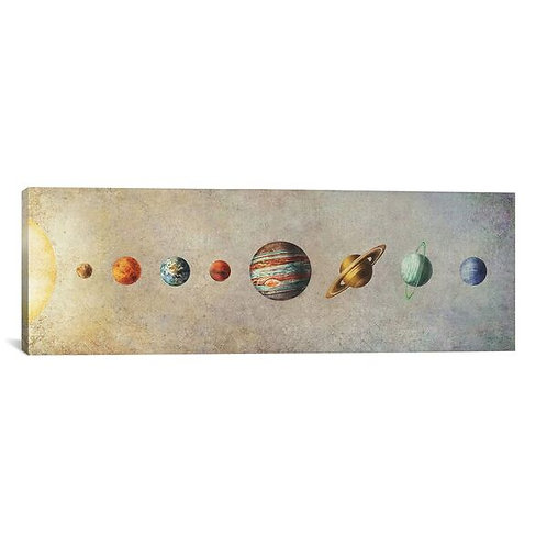 The Solar System by Terry Fan Canvas Print