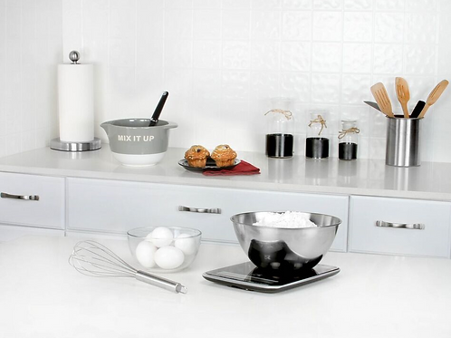 Black Onyx Multi-Function Digital Kitchen Scale