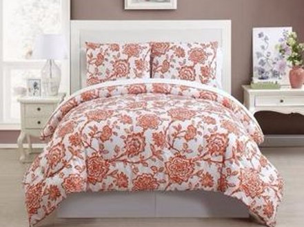 JORDIN BED IN BAG - 4 Piece Comforter Set & Sheet Set