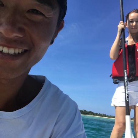 SUP in Ishigaki island