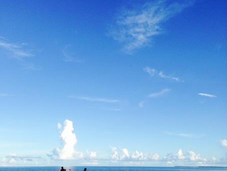 海ひらきました