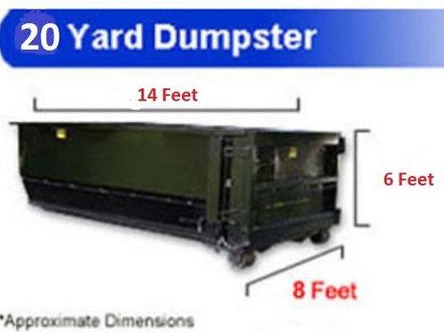 20 Yard Dumpster Rental (Sampson County)