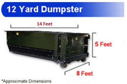 12 Yard Dumpster Rental (Sampson County)
