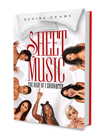 Devine Evans Author of The Diary of a Songwriter