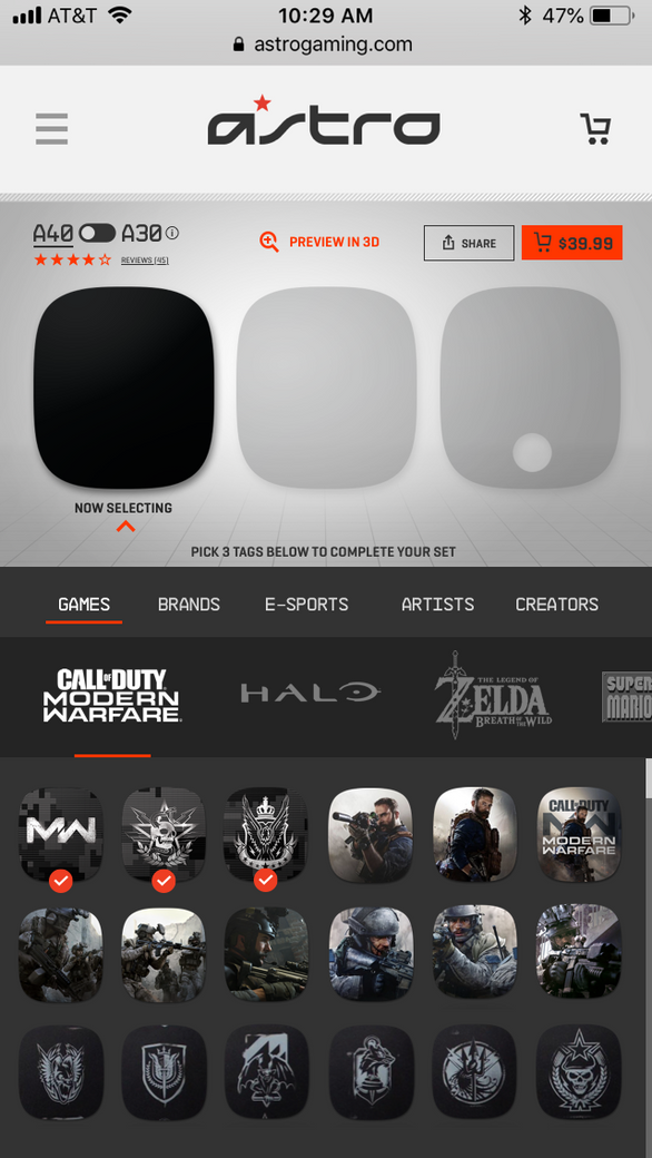 Tag Customizer Mobile