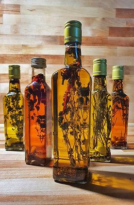 Ulei de măsline extravirgin aromatizat