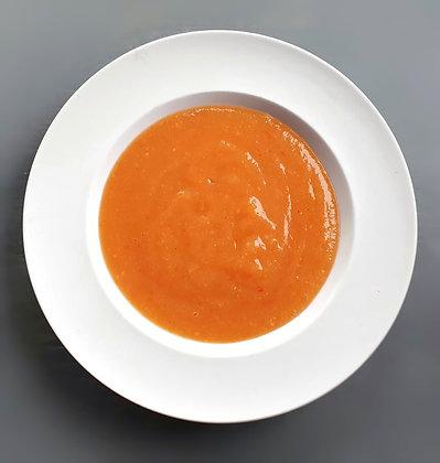 Supă cremă de legume + crutoane