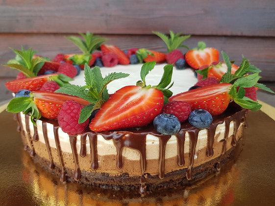 Tort trio mousse de ciocolată (2kg)
