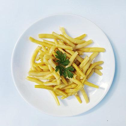Păstăi de fasole cu usturoi