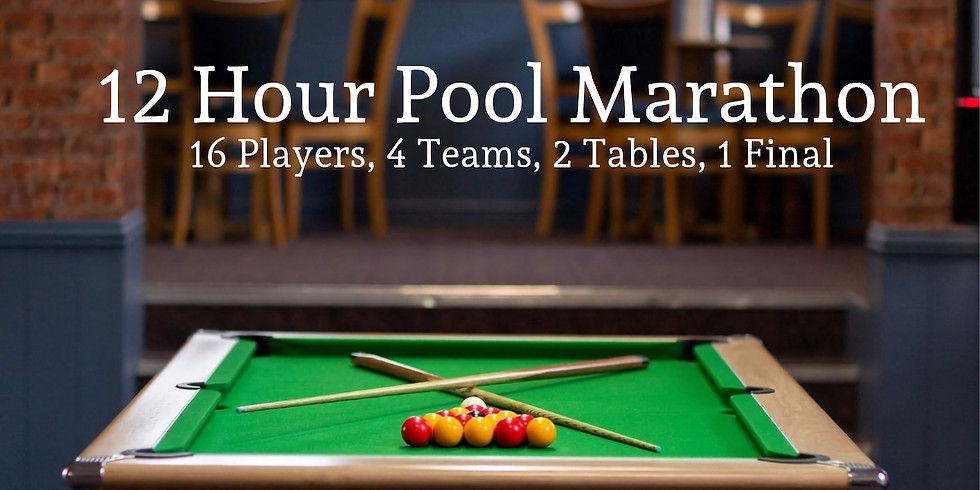 12 Hour Charity Pool Marathon