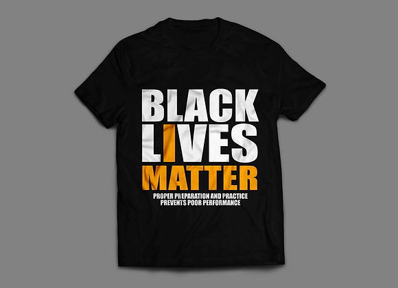 Black Lives Matter Six-P's T-Shirt