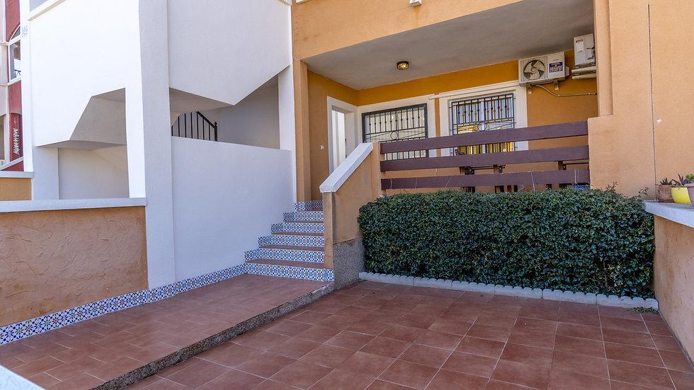 2 Bed Ground Floor Apartment for Long Term Rental in Orihuela Costa - 580LT